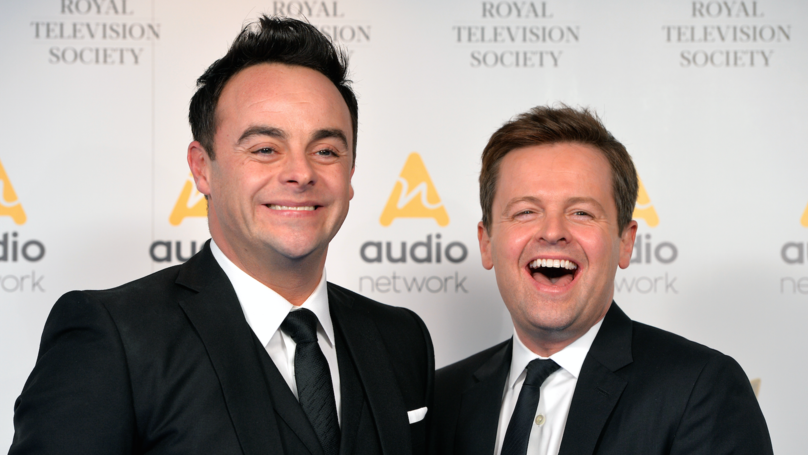 Ant And Dec Win Best Presenter Award For 17th Time