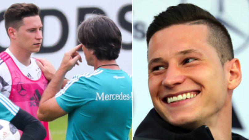 Julian Draxler Reveals His Bizarre Pre-Game Ritual Which Gives Him 'Happiness'