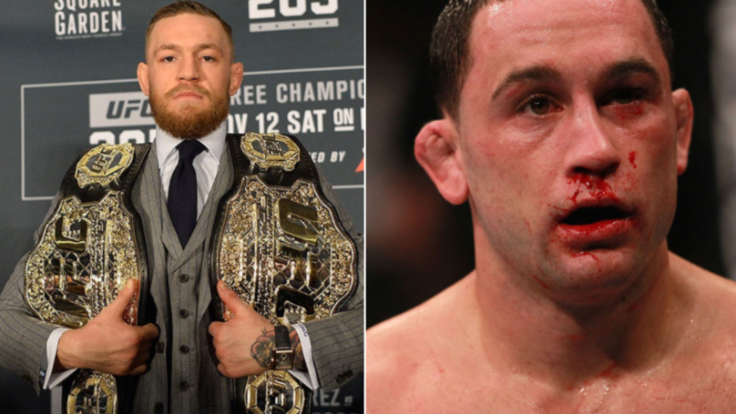 Frankie Edgar Responds To Conor McGregor's Claim That He Offered To Face Him At UFC 222