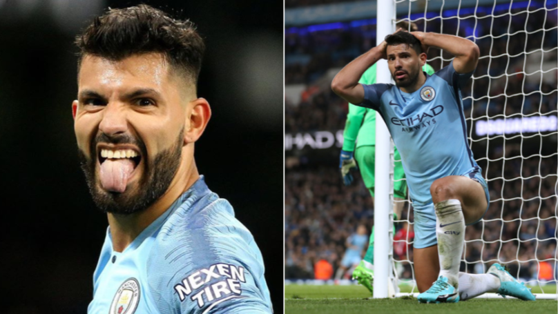 Sergio Aguero Has A Completely New Look Ahead Of The Manchester Derby