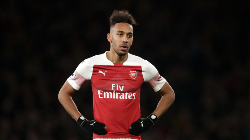 Aubameyang Could Follow Van Persie, Fabregas, Sanchez and Become Latest Arsenal Star To Join A Premier League Rival