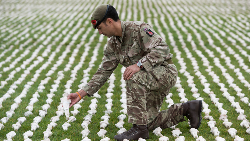 Exhibition Launched With 72,396 Figures To Represent Thousands Who Died In WWI But Have No Grave