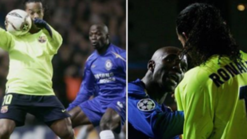"""I'll Send You To Hospital"" - The Story Of Claude Makelele Threatening Ronaldinho Is Priceless"
