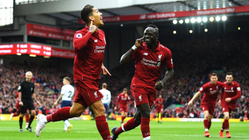 Sadio Mane Copied Roberto Firmino's Celebration Yet Again
