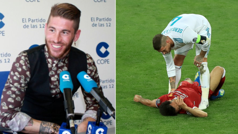 Sergio Ramos Gives The Most Sergio Ramos Answer To Question About Salah/Karius