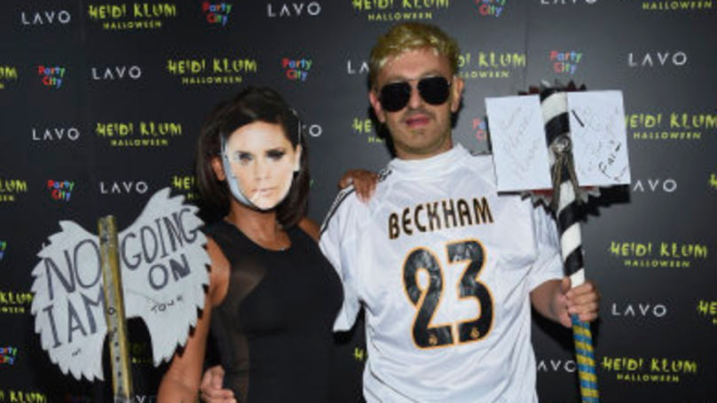 Mel B 'Throws Shade' At Victoria Beckham With Halloween Costume