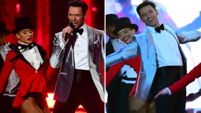 Hugh Jackman Stuns With The Greatest Showman Performance At Brits