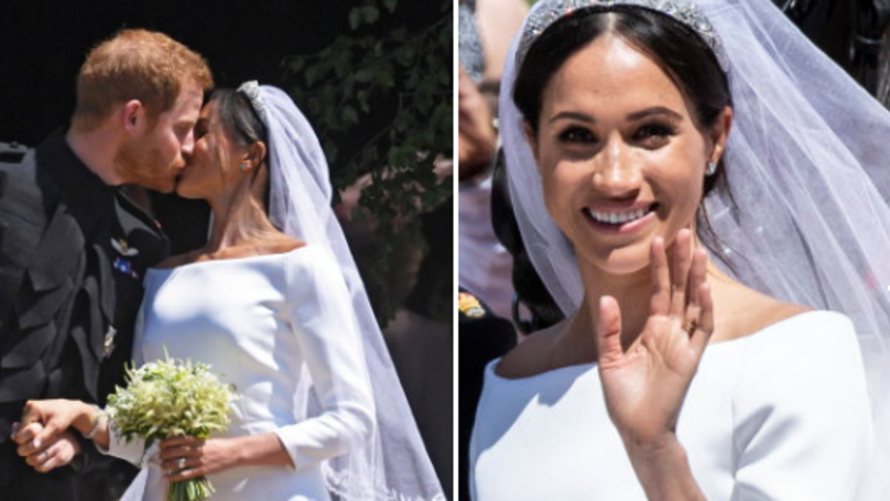 ​There Was A Very Sweet Reason Behind Meghan Markle's 'Messy' Wedding Hair