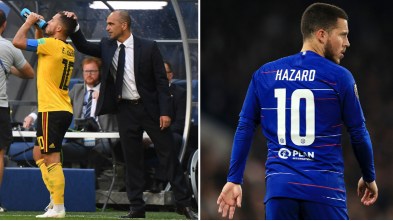Roberto Martinez Explains How Eden Hazard's 'Famous Ass' Is His Secret Weapon