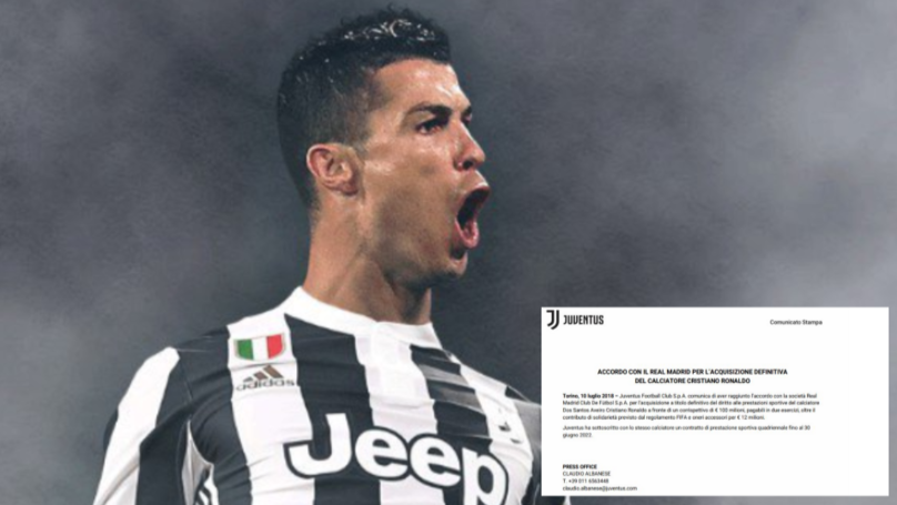 A Complete Breakdown Of Cristiano Ronaldo's Massive Contract At Juventus