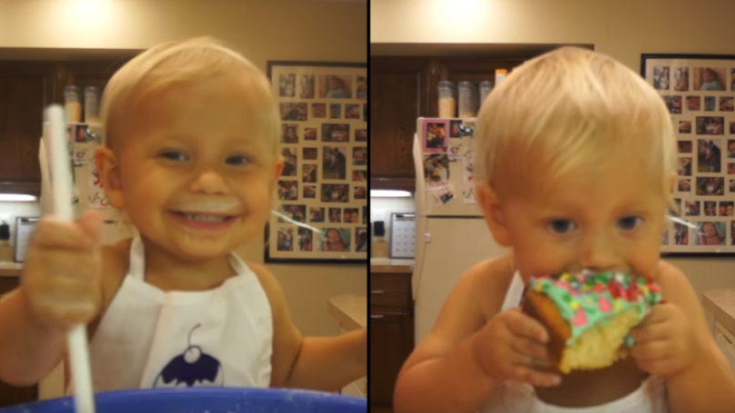 Two-Year-Old Creates His Own Cooking Show And It's The Best Thing Ever