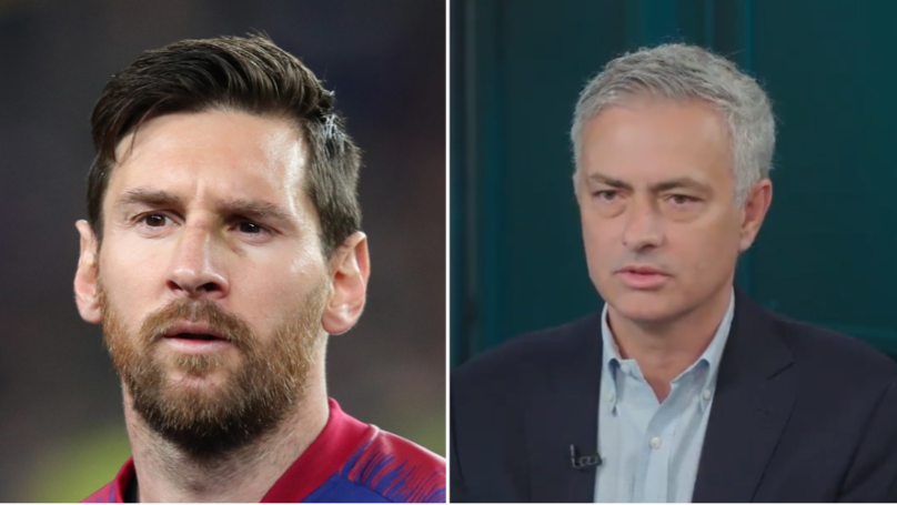 Jose Mourinho Says Liverpool Need 'To Create A Cage' To Stop Lionel Messi