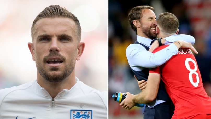 Jordan Henderson Now The Proud Owner Of An Absolutely Incredible England Stat
