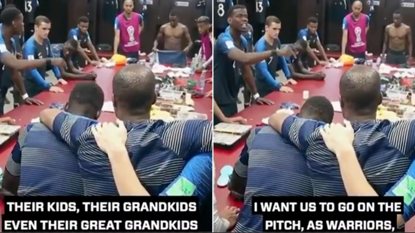 Remembering Paul Pogba's Rousing Pre World Cup Final Speech