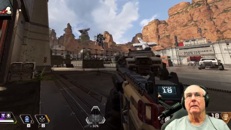 ​Grandpa Twitch Streamer With 150k Followers Is Amazing At Apex Legends