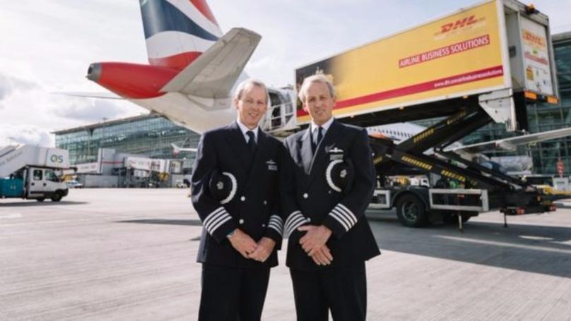Twin Pilots Retire By Landing Final Flights Just 30 Seconds Apart