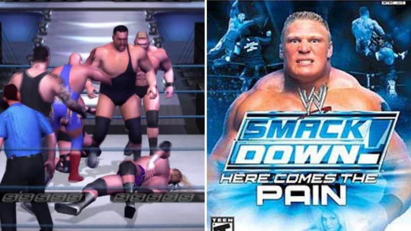 WWE SmackDown! Here Comes The Pain Could Get A Remastered Release