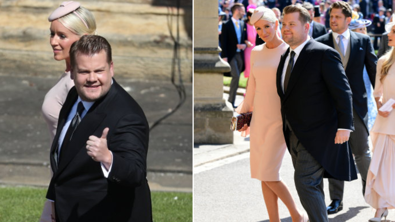 Everyone's Confused Why James Corden Is At The Royal Wedding