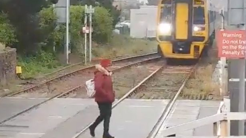 'Incredibly Reckless' Woman Ignored Railway Crossing And Wandered Over Tracks