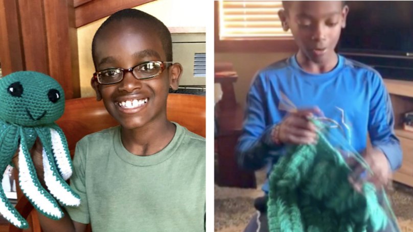 Boy Becomes An Internet Sensation Thanks To His Amazing Crochet Tekkers