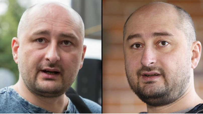 ​Russian Journalist Arkady Babchenko Thought To Be Murdered Is Actually Alive And Rocks Up At Press Conference