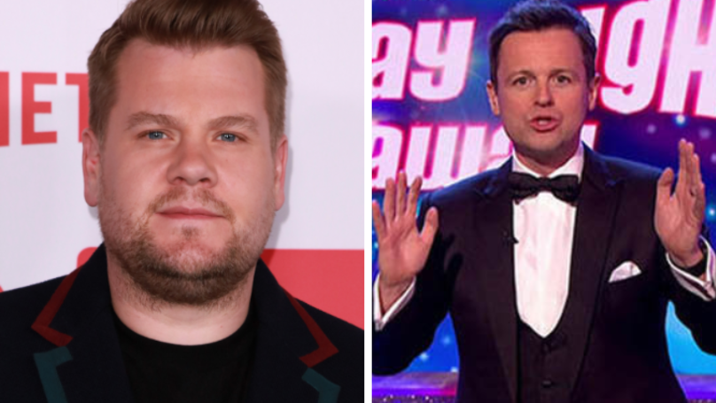 James Corden 'Could Stand In For Ant McPartlin On Saturday Night Takeaway Final'