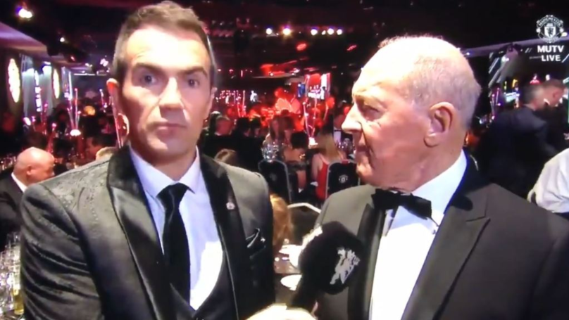 The Most Brutally Honest Interview Happened During Man Utd's End Of Season Awards