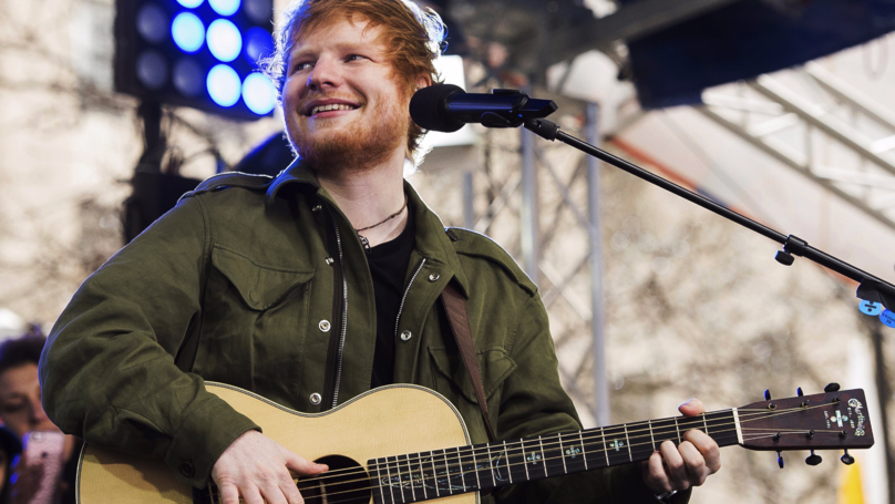 Ed Sheeran Proves The 'Four Chord Theory' Is True