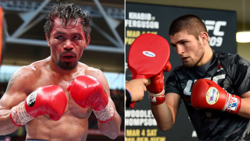 Boxing Chief Teases Khabib Nurmagomedov Vs. Manny Pacquiao At Luzhniki Stadium