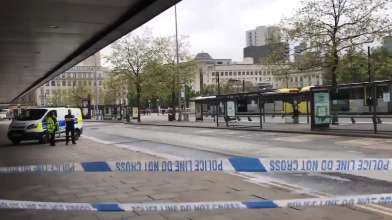Manchester's Piccadilly Gardens Cordoned Off Due To Suspicious Package