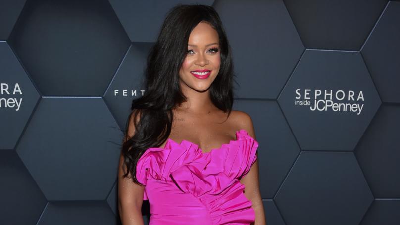 Woman Creates Temporary Tattoo Of Rihanna Using Fenty Beauty Products