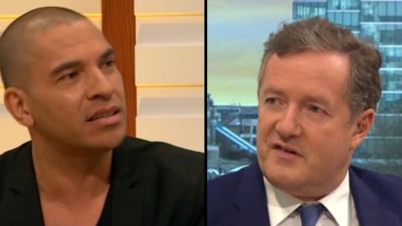 Stan Collymore Confronts Piers Morgan On His 'Man Up' Comments