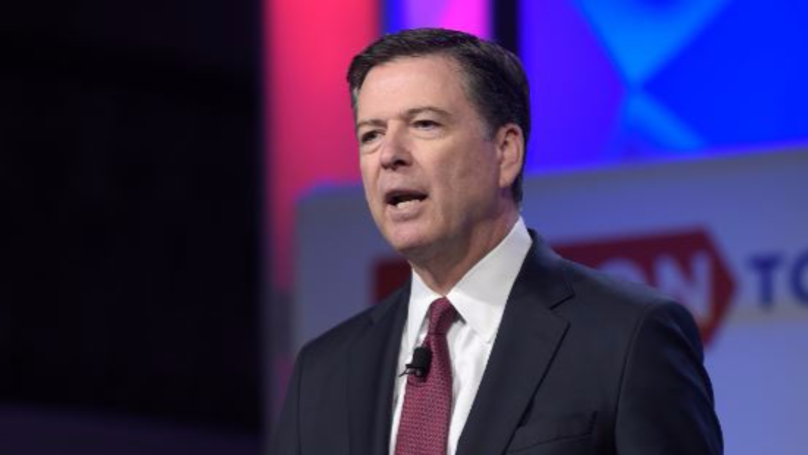 ​James Comey Writes Goodbye Note To Former FBI Colleagues