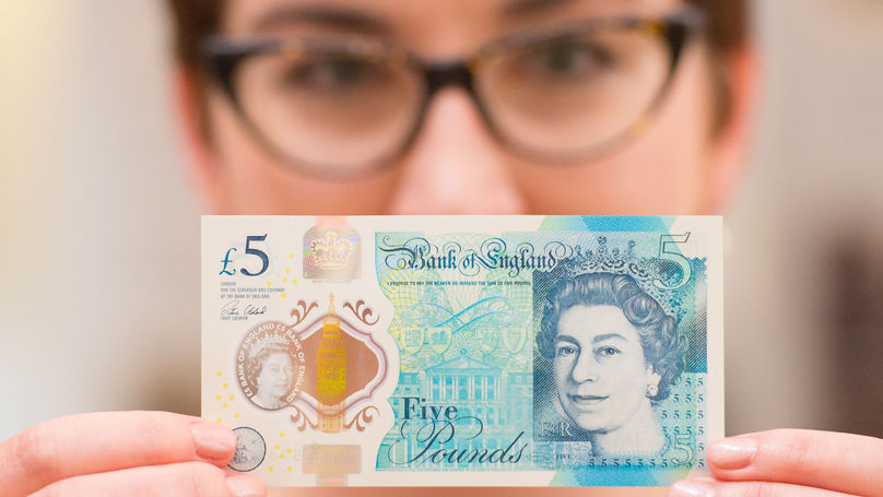 Where To Pick Up One Of The New Five Pound Notes