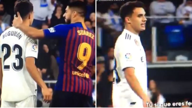 Real Madrid's Sergio Reguilón Told Luis Suárez 'You're So Ugly' In El Clasico Spat