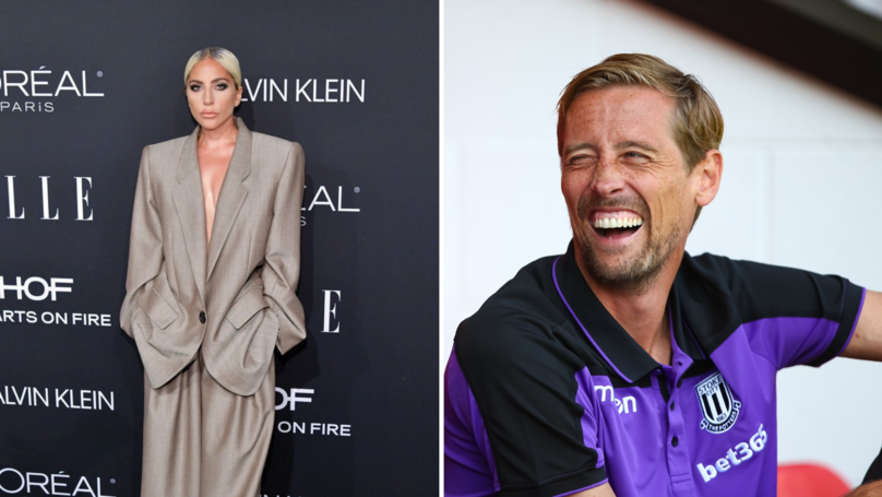 Peter Crouch Hilariously Trolls Lady Gaga After Watching A Star Is Born