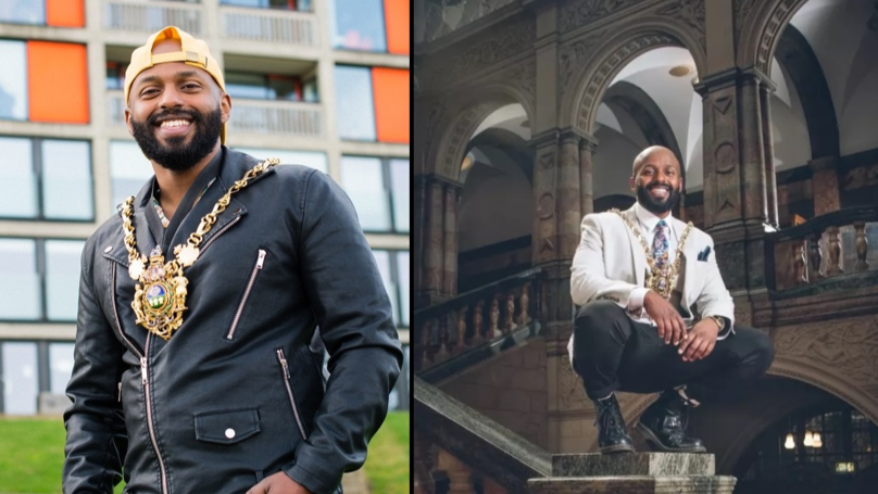 The New Lord Mayor Of Sheffield Looks Absolutely Boss