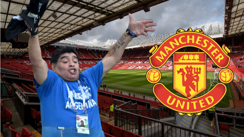 "Diego Maradona: ""If Manchester United Need A Coach, I'm The Man To Do It"""