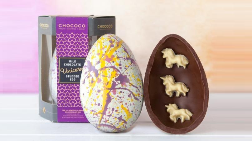 Magical Milk Chocolate Unicorn Easter Egg For £12