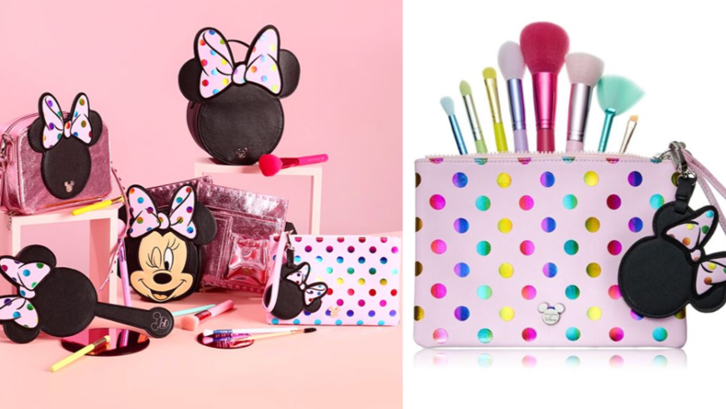 This New Minnie Mouse Brush Collection Is Just The Cutest