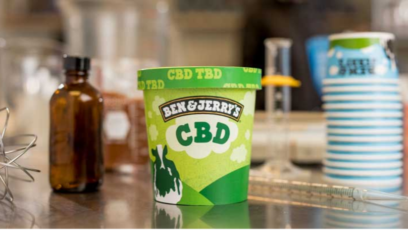 ​Ben And Jerry's To Start Selling CBD-Infused Ice Cream As Soon As It Becomes Legal
