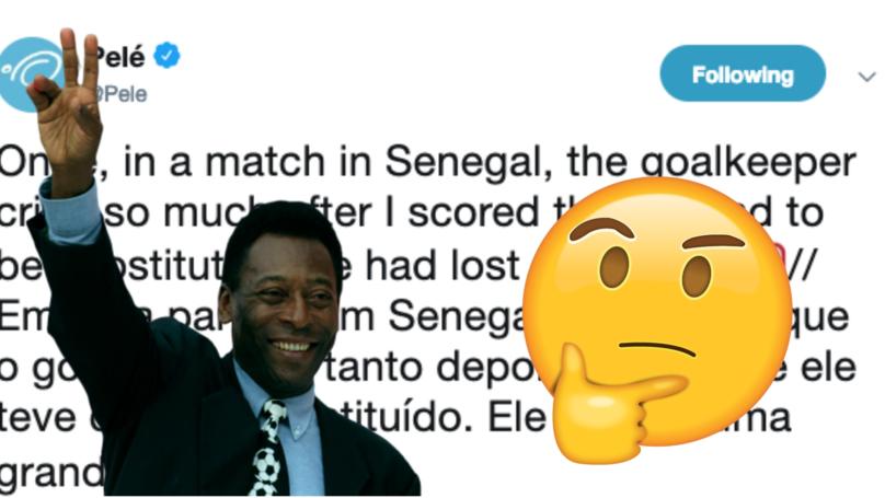 Fan Gives Pelé A 'Reality Check' After The Brazilian Legend's Latest Claim