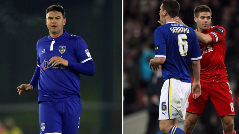 Oldham Athletic Sack Anthony Gerrard After He Tells Fan To 'Throw Sh*te At Himself' On Twitter