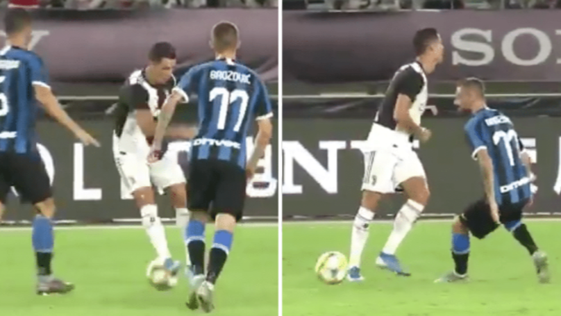 Cristiano Ronaldo Pulls Off Classic Skill Before Fooling Player With No Look Pass