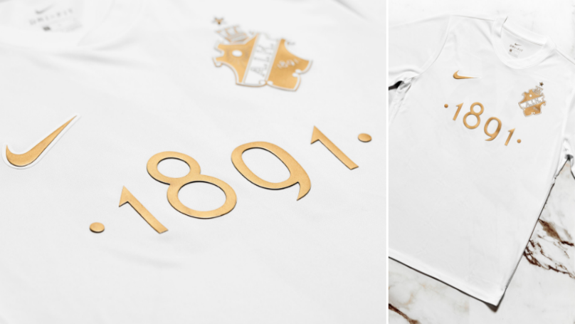 Nike And AIK Outdo Themselves Again With Stunning White And Gold Kit