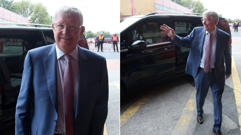 Sir Alex Ferguson Receives The Most Incredible Welcome On His Return To Old Trafford