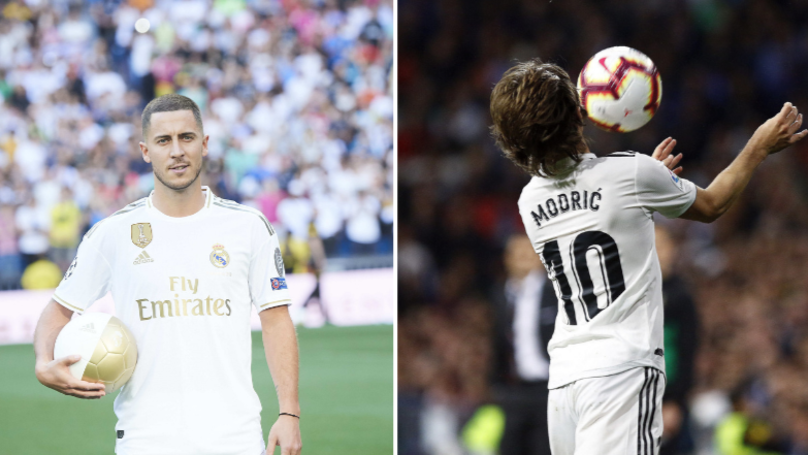Eden Hazard Asked Luka Modric For No.10 Shirt At Real Madrid