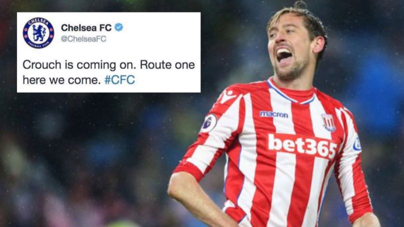 Chelsea Tweet Goes Viral After Crouch Linked With Stamford Bridge Move