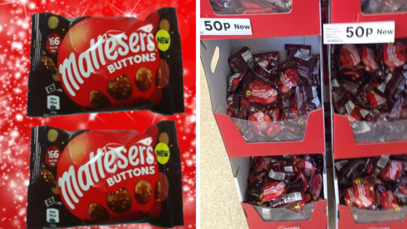 Maltesers Buttons Are Now Available At Tesco And They're Only 50p