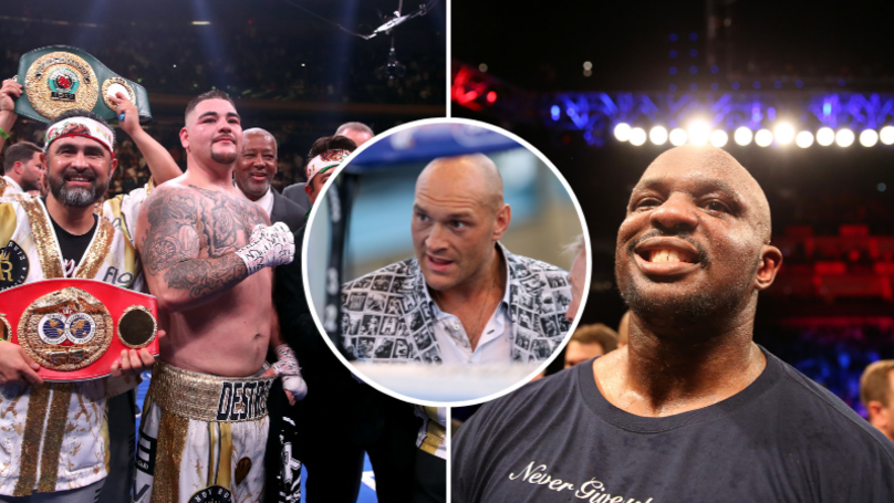 Dillian Whyte Names Andy Ruiz Jr As World's Best Heavyweight